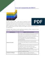 Principales Cambios en Los 5 Componentes de COSO III