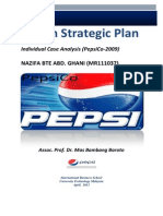 PepsiCo. Strategic Plan Design