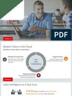 Oracle Sales Intelligence