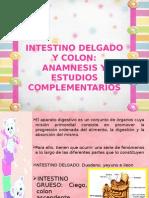 Intestino Delgado y Colon...Anamnesis y Estudios Complementarios