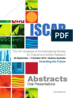 ISCAR 2014 Abstracts