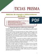 Noticias de Energia e Hidrocarburos