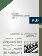 Seguridad Evolucion de La Ing. Industrial
