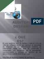 Auditoria de Desarrollo