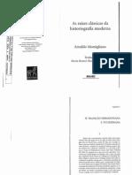 As Raízes Clássicas Da Historiografia Moderna - Cap.02 a Tradição Herodotea