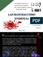 Manchas como evidencia.pptx Auxi Gabriela Colina Lorenzo.pdf