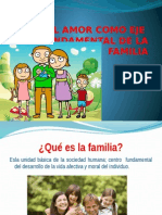 Diapositivas de La Familia