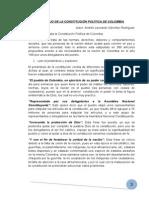 Trabajo de La Constitución Política de Colombia