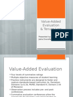value-added evaluation