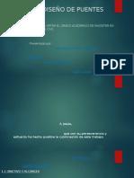 Analisis y Diseño de Puentes Colgantes