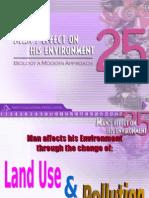 Man s Effect on His Enviro