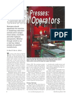 MetalForming Hydraulic Press Advanced Tech Article
