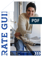2015 Rate Guide - Print and Digital Advertising