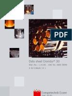 Data Sheet Cronidur 30 2009