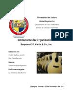 Comunicación organizacional C.F. Martin