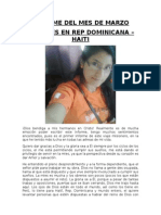 1er Informe MISIONERO Elizabeth VP