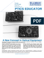 Fibre-Optics Educator Leaflet