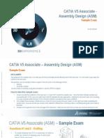 CATIA V5 Associate Sample Exam-ASM[1]
