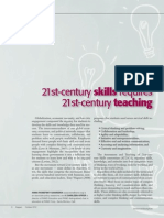learning 21st century skills requires 21st century teaching