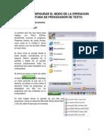 cpt4 Configurar El Modo de La Operacion de La Ventana de Procesador de Texto