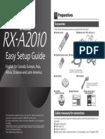 RX-A2010 Easy Setup Guide