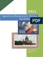 Agustin de Betancourt.por Mauro de León Melián