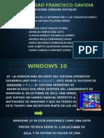 Presentacion Del Tema Windows 10