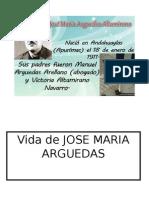 Vida de Jose Maria Arguedas