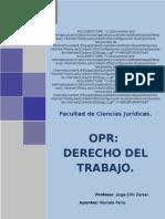 Apunte Completo Derecho Del Trabajo 2010