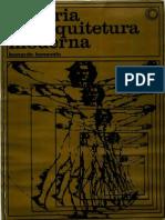 BENEVOLO Leonardo Historia Da Arquitetura Moderna
