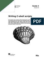 Writing CSH Shell Scripts