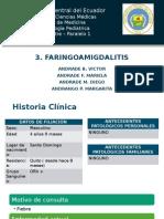 Faringoamigdalitis en niños - caso clínico