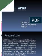 APBN – APBD