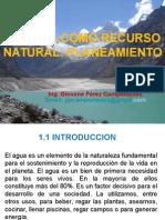 Primera Sesion El Agua Como Recurso Natural