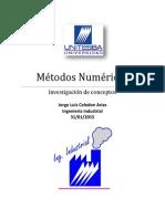 Métodos Numéricos Jorge Luis Celedon