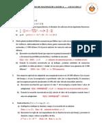 Ejercicios de Repaso de Matemática Básica