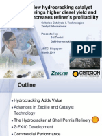 New Hydrocracking Catalyst Brings Higher Diesel Yield and Increases Refiner Profitability