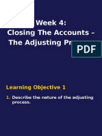 Week4.ClosingTheAccounts.TheAdjustingProcess