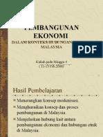 Bab 4 Pembangunan Ekonomi