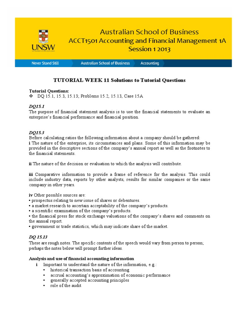 TQ_Ans_Wk11   Investing   Valuation (Finance)