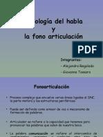 Fisiologia Del Habla y La Fono Articulacion