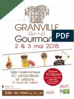 Granville Gourmand 2 et 3 mai 2015