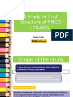 FMCG Sector cost structure