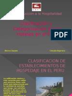 Clasificacion de Establecimientos de Hospedaje en El Peru