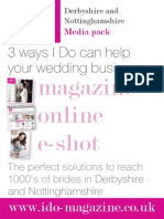 I Do Magazine Advertising Pack - Derbyshire Nottinghamshire