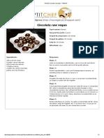 Ciocolata Raw Vegan - Petitchef