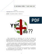 REGLAMENTO INTERNO PEÑA 07-08  Version 3 3