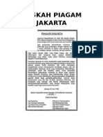 Naskah Piagam Jakarta