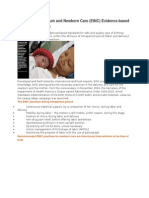 Essential Intrapartum and Newborn Care