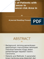 Journal Reading Gastric Cancer